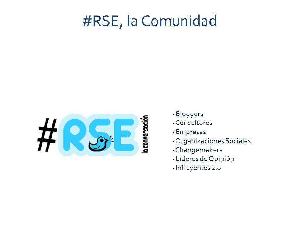 #RSE, la Comunidad Bloggers Consultores Empresas Organizaciones Sociales Changemakers Líderes de Opinión Influyentes 2.0