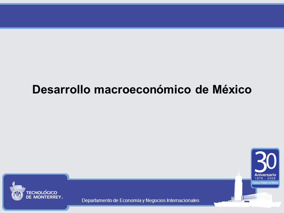 Departamento de Economía y Negocios Internacionales El análisis de la IED A nivel Macroeconómico –La IED puede influir en las variables macroeconómicas: Aumenta la producción (PIB) Aumenta el empleo Aumenta el ingreso Podría reducir la pobreza