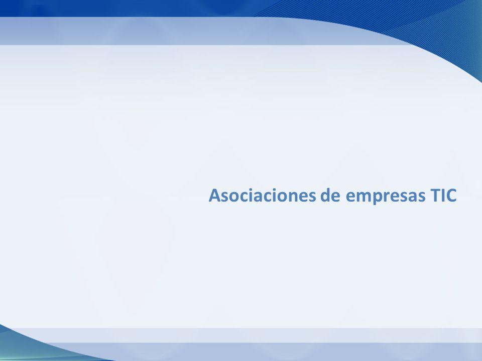 Asociaciones de empresas TIC