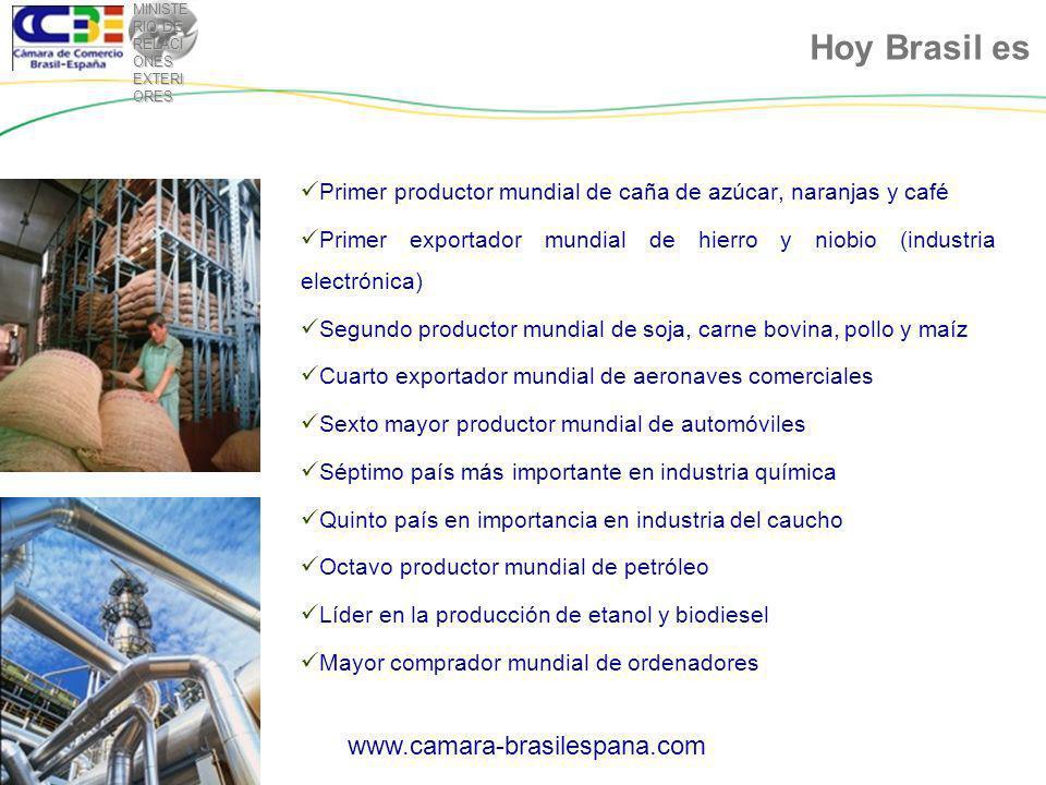 MINISTE RIO DE RELACI ONES EXTERI ORES En que consiste el programa: Oportunidades de Cooperación Empresarial SUBVENCIÓN PARA FAMÍLIAS DE BAJA RENTA (hasta 4.650 reales al mes) CRIACIÓN DE NUEVO FONDO GARANTIDOR PARA REDUZIR RISCOS Y COSTOS ASOCIACIÓN DE LARGA DURACCIÓN ENTRE GOBIERNO E INVERSORES PRIVADOSREDUCCIÓN DEL COSTO DE LA BUROCRACIA Y TIEMPO REQUERIDO PARA REGISTRO DE TÍTULO REDUCCIÓN DE IMPUESTOS Y NUEVOS PROGRAMAS DE FINANCIACIAMIENTO HABITACIONAL PAC 2: Mi casa, mi vida www.camara-brasilespana.com