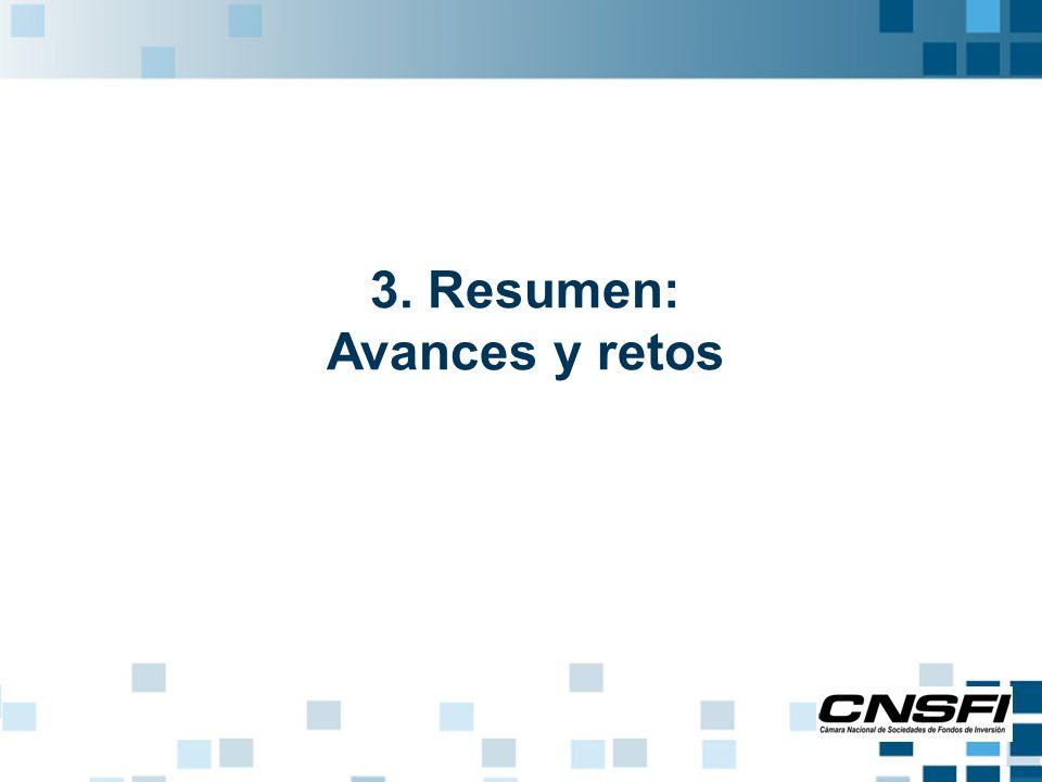 3. Resumen: Avances y retos