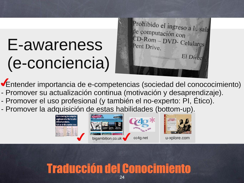 Traducción del Conocimiento 24