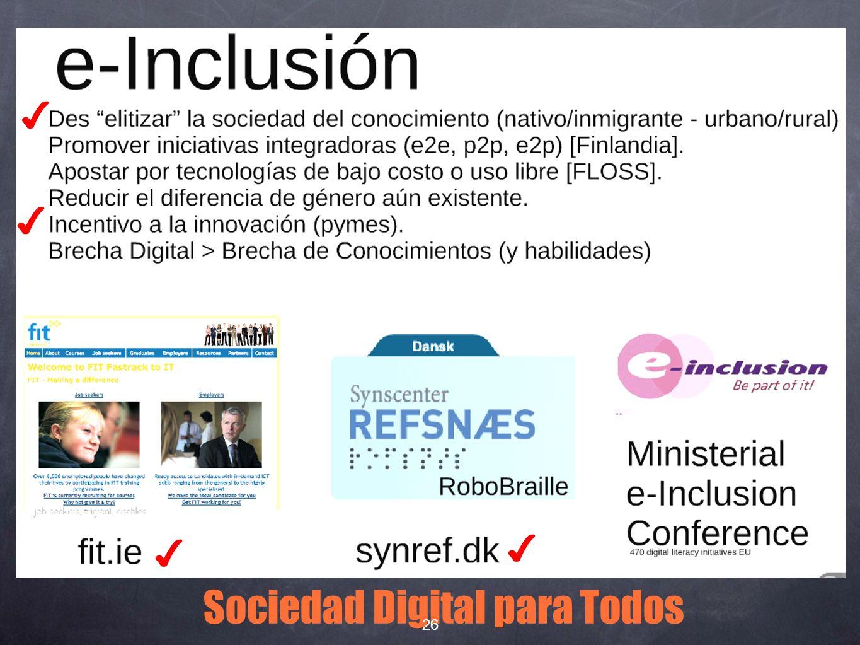 Sociedad Digital para Todos 26