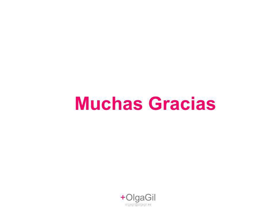 +OlgaGil olgagil@olgagil.es Muchas Gracias