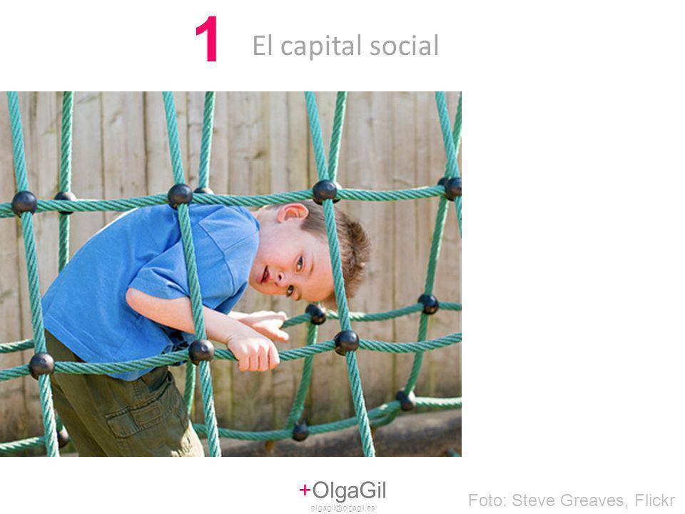 El capital social 1 +OlgaGil olgagil@olgagil.es Foto: Steve Greaves, Flickr