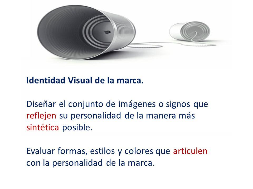 Identidad Visual de la marca.