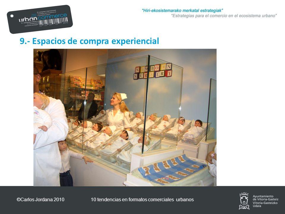 9.- Espacios de compra experiencial ©Carlos Jordana 201010 tendencias en formatos comerciales urbanos