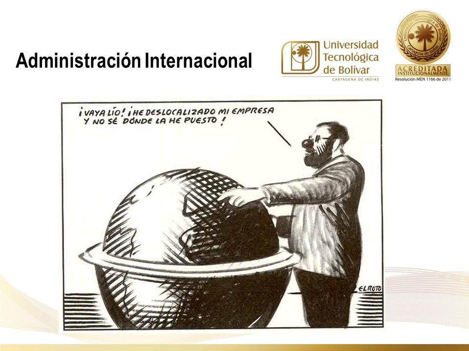 Administración Internacional