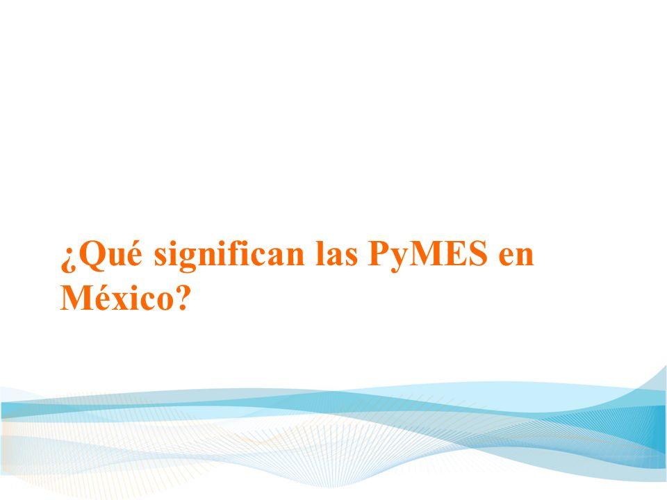 Amenazas para las PyMES Finanzas débiles Rápido ROI Falta de conocimiento del mercado Poca o nula interacción con asociados estratégicos Poca diferenciación en P B/S PyME