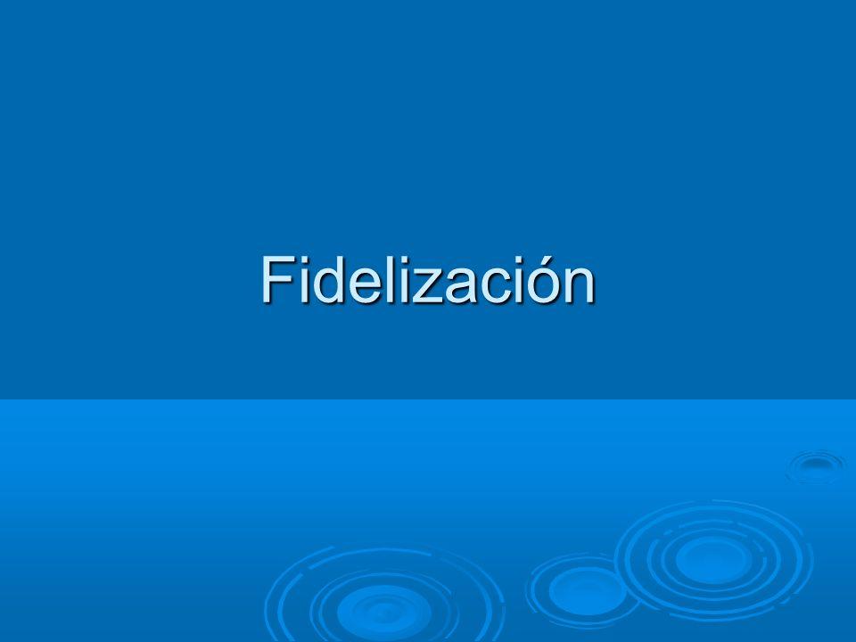 Fidelización