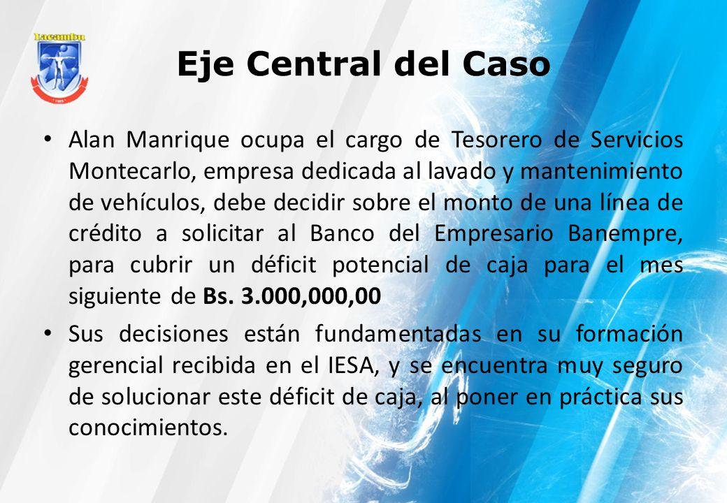 Eje Central del Caso Alan Manrique ocupa el cargo de Tesorero de Servicios Montecarlo, empresa dedicada al lavado y mantenimiento de vehículos, debe d