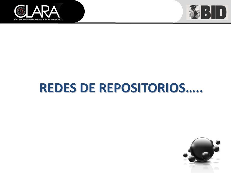 REDES DE REPOSITORIOS…..