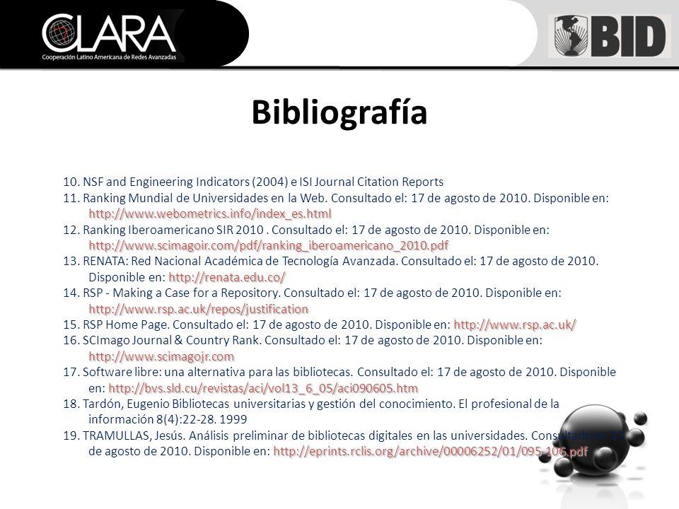 Bibliografía 10.