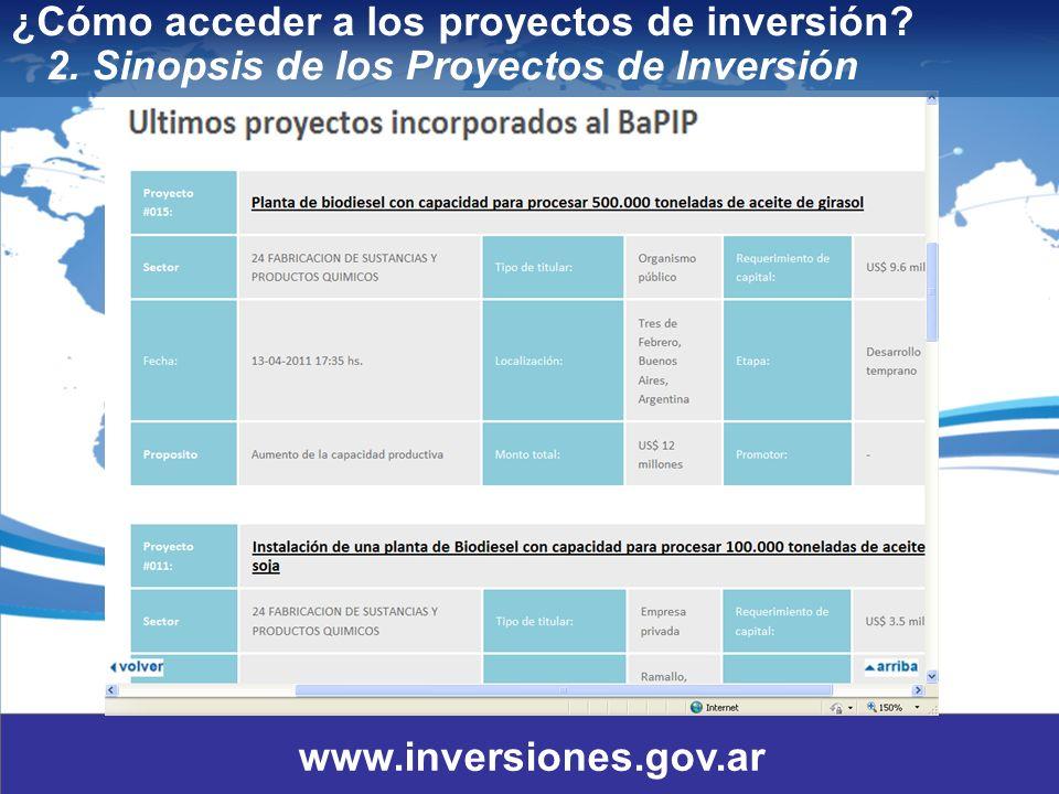 13 ¿Cómo acceder a los proyectos de inversión.2.
