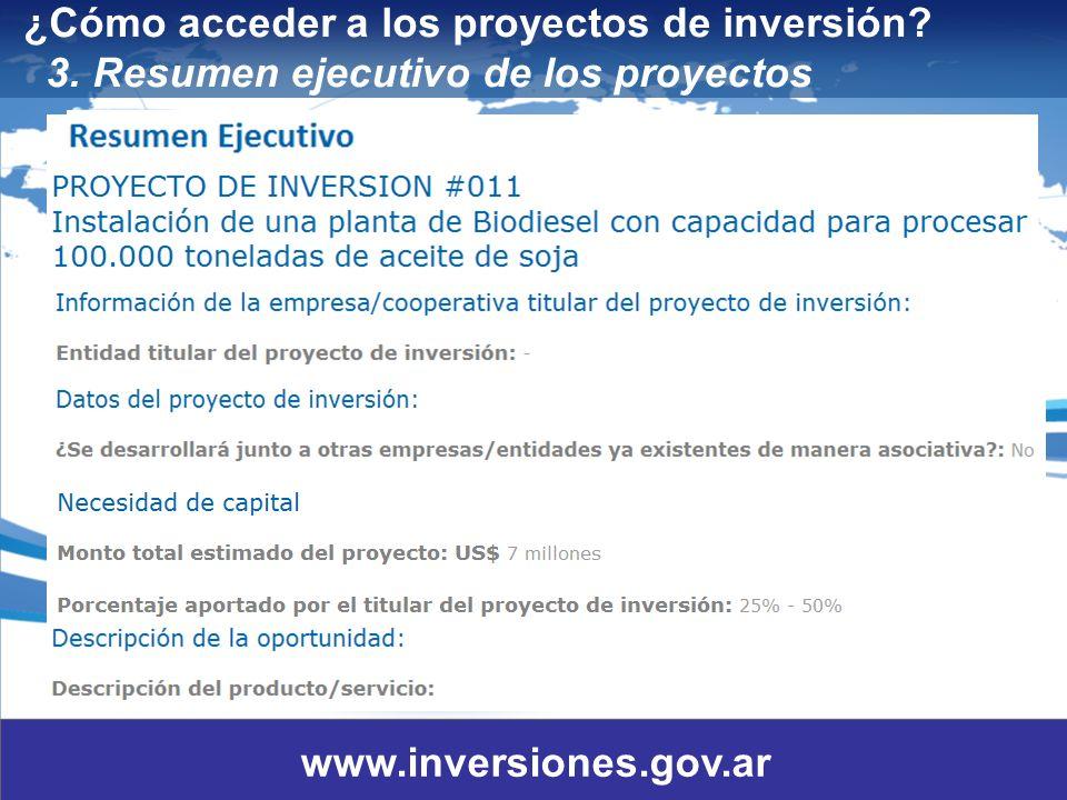 14 ¿Cómo acceder a los proyectos de inversión.3.