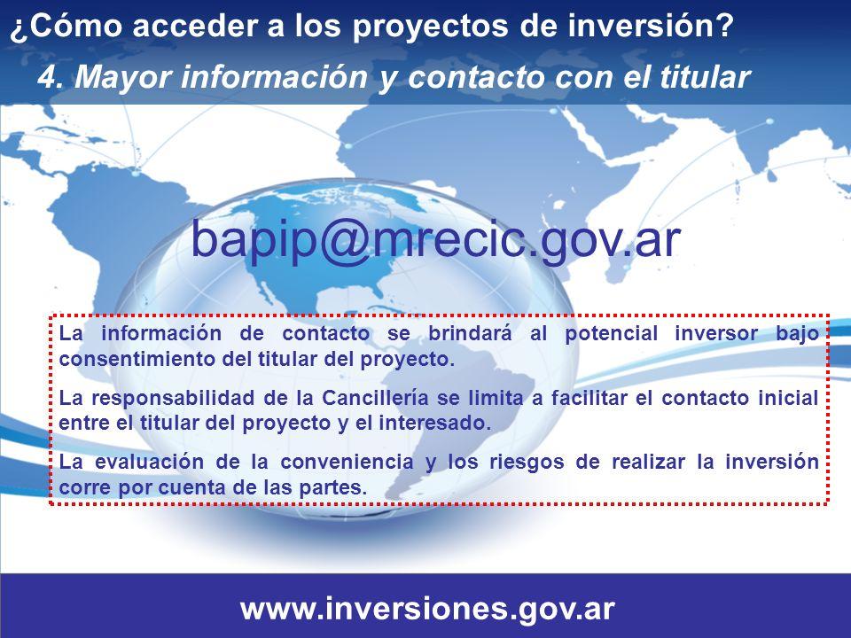 15 ¿Cómo acceder a los proyectos de inversión.4.