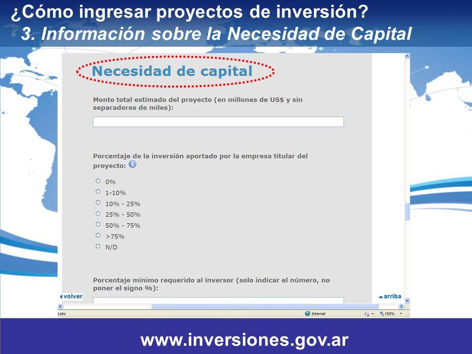 8 ¿Cómo ingresar proyectos de inversión.3.