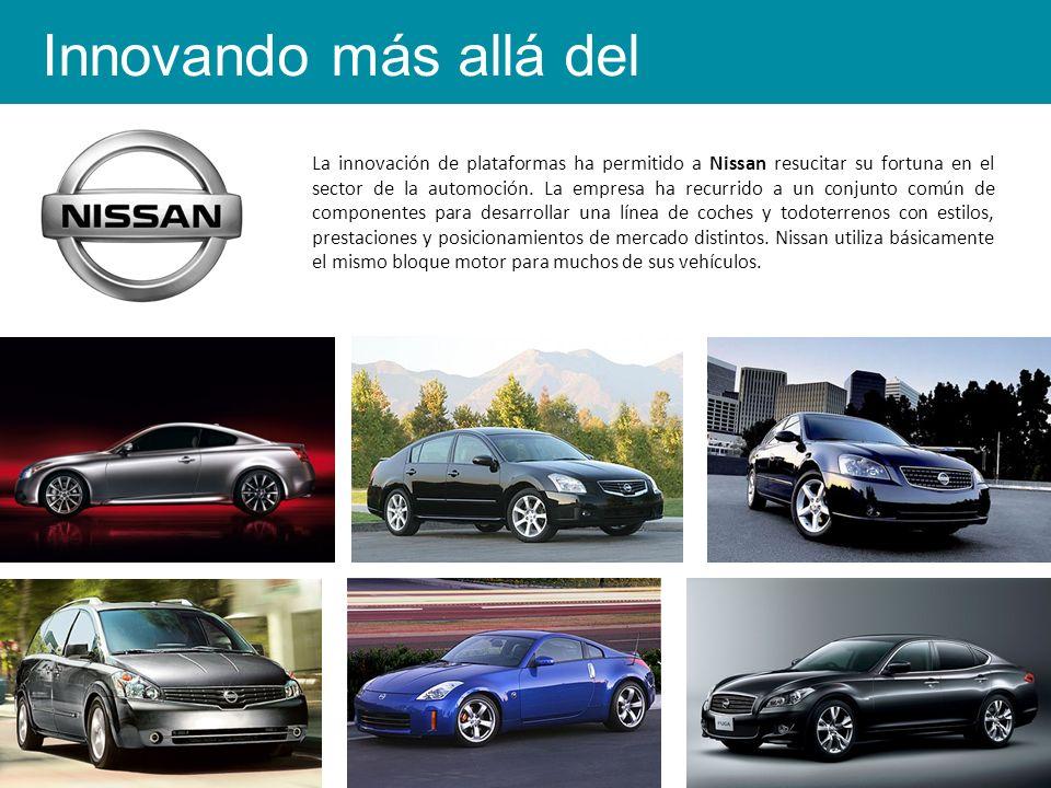 La innovación de plataformas ha permitido a Nissan resucitar su fortuna en el sector de la automoción.