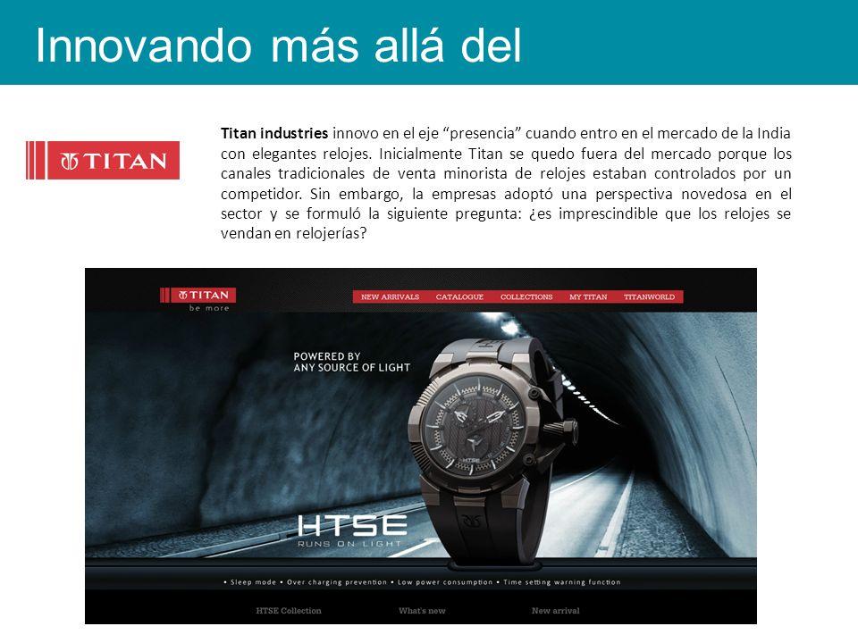 Titan industries innovo en el eje presencia cuando entro en el mercado de la India con elegantes relojes.