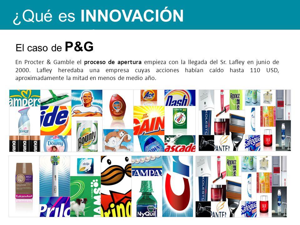En Procter & Gamble el proceso de apertura empieza con la llegada del Sr.