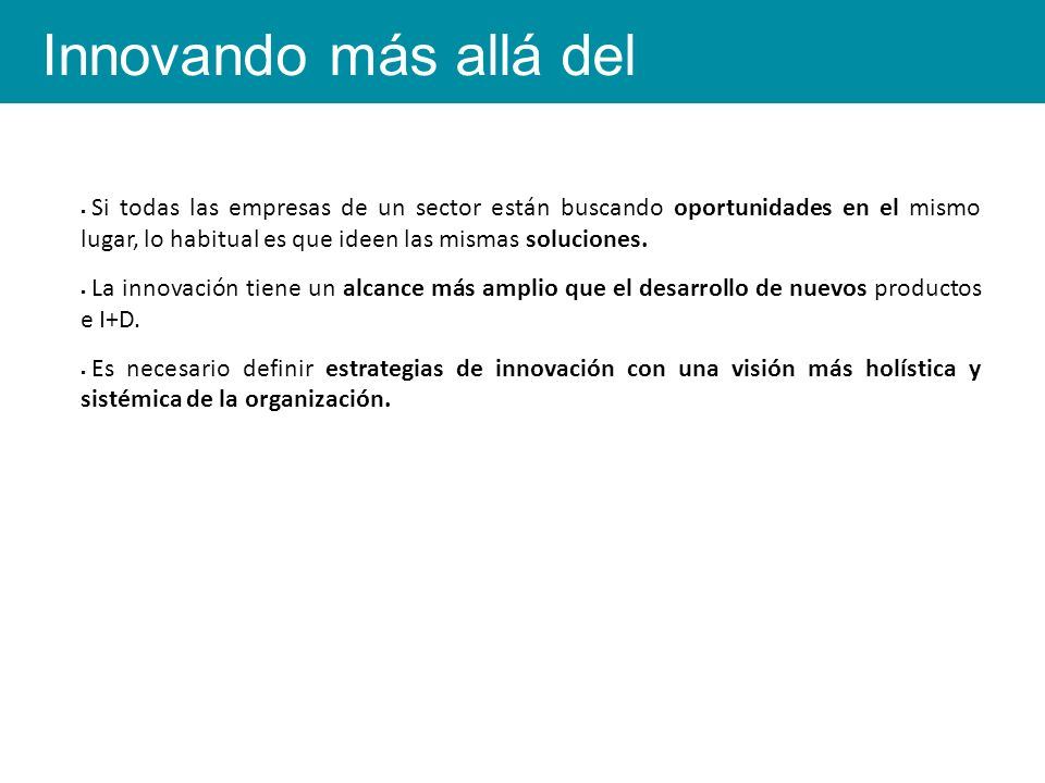 La innovación en las PYMEs ¿Cuáles son las dificultades para innovar que tienen las PYMEs?