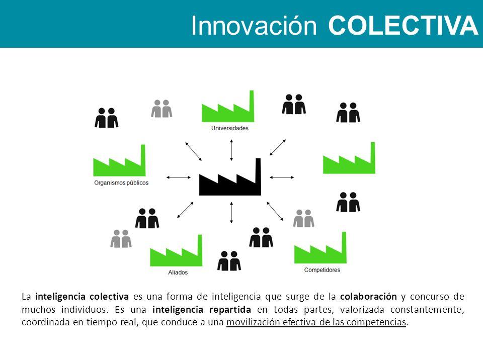 La inteligencia colectiva es una forma de inteligencia que surge de la colaboración y concurso de muchos individuos.