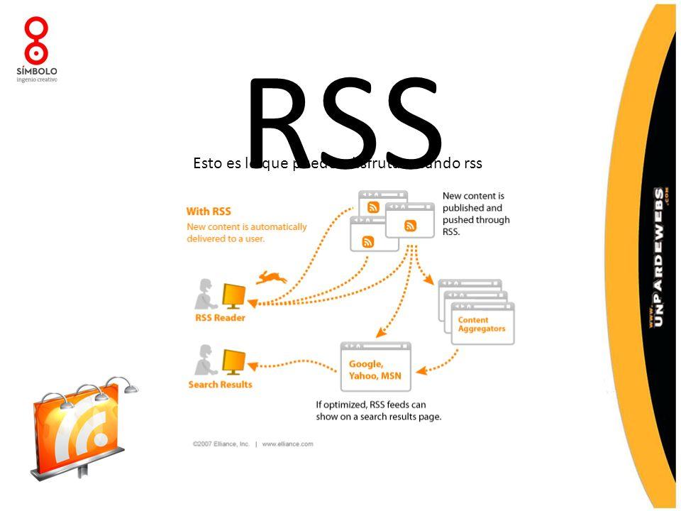 RSS Esto es lo que puedes disfrutar usando rss