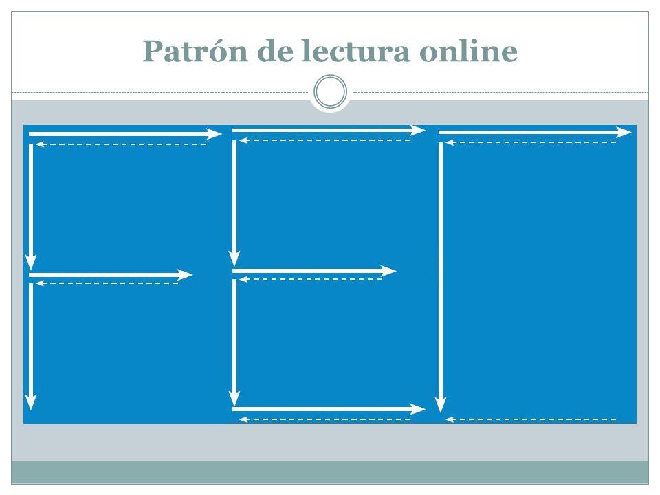 Patrón de lectura online