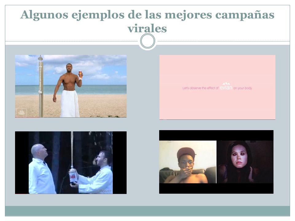 Algunos ejemplos de las mejores campañas virales