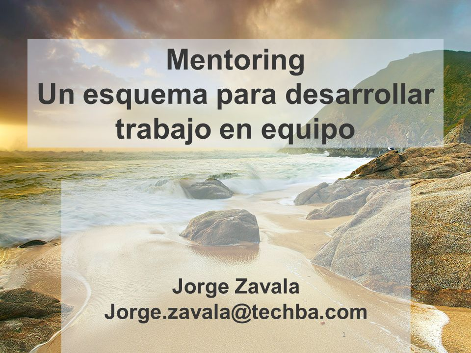 Donde encontramos los mentores que nos pueden ayudar 12