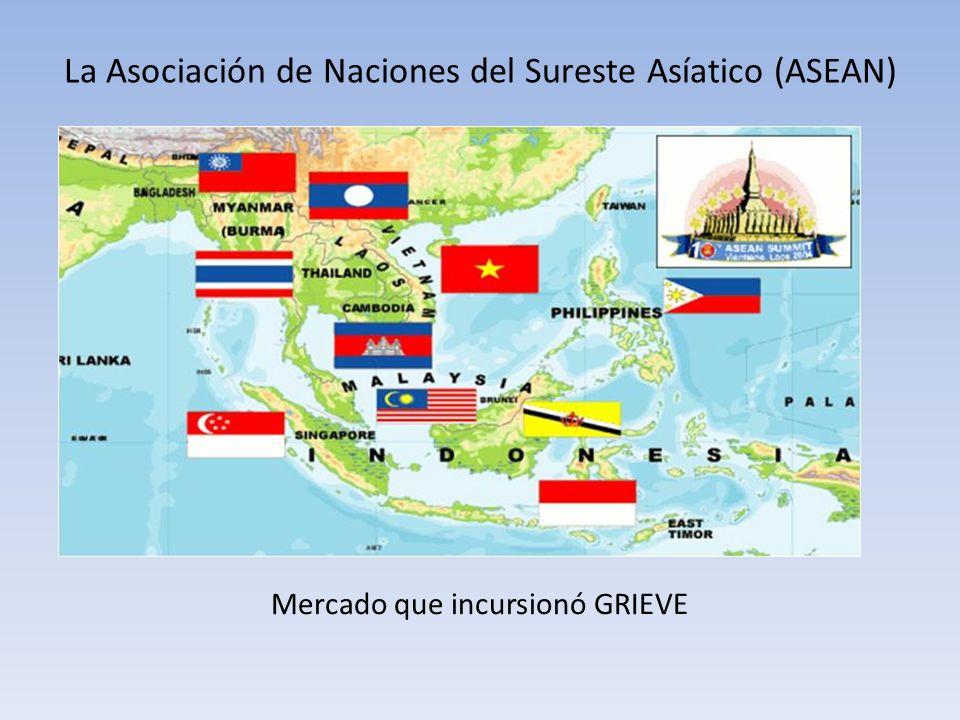 La Asociación de Naciones del Sureste Asíatico (ASEAN) Mercado que incursionó GRIEVE