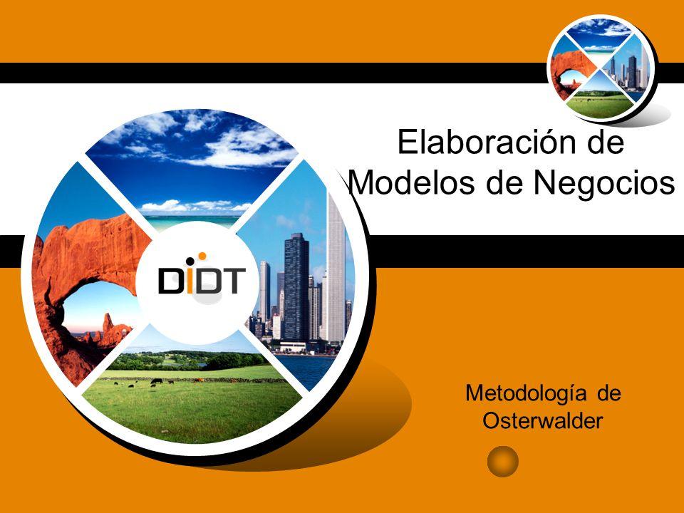 Elaboración de Modelos de Negocios Metodología de Osterwalder