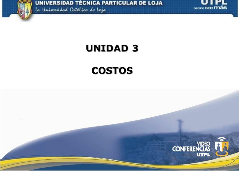 UNIDAD 3 COSTOS
