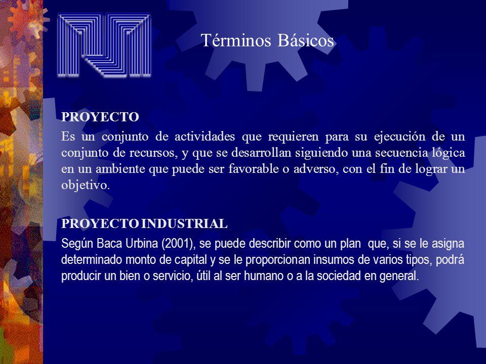 PROYECTO ACTIVIDADES (LAS COSAS QUE HACEMOS) AMBIENTE RECURSOS (LAS COSAS QUE USAMOS) OBJETIVO RECURSOS HUMANOS RECURSOS MATERIALES CAPITAL TIEMPO FÍSICO ECONÓMICO SOCIAL JURÍDICO POLÍTICO TECNOLÓGICO Fuente: Pedro Briceño, 1995 ELEMENTOS DE UN PROYECTO