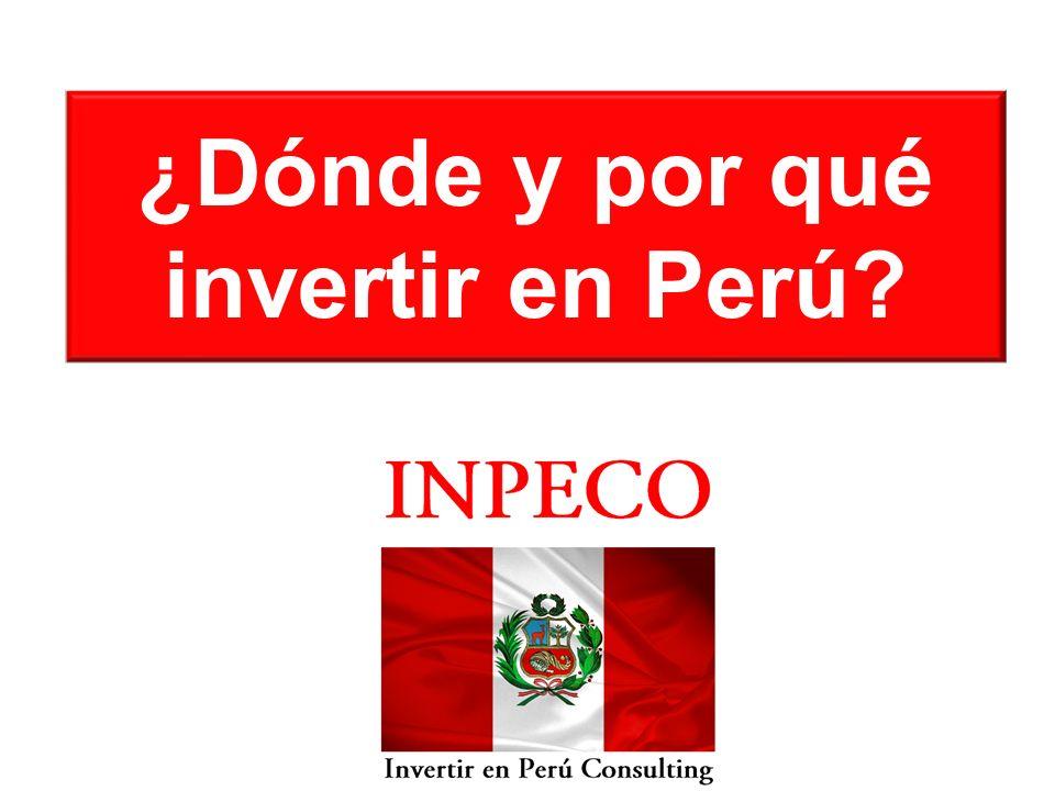 ¿Dónde y por qué invertir en Perú