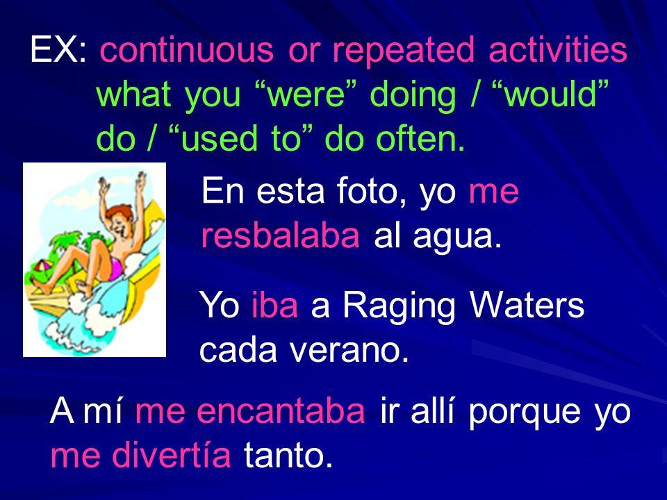 Yo iba a Raging Waters cada verano.