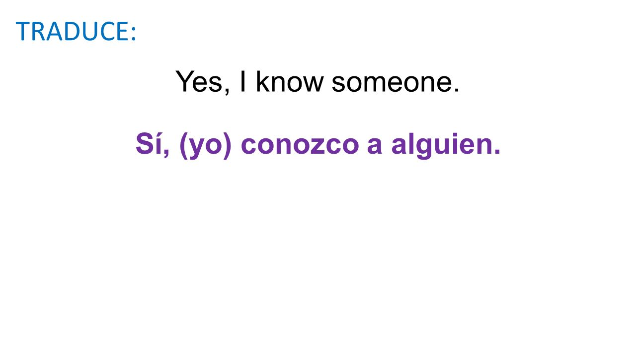 Some students never answer any. Algunos estudiantes nunca contestan ninguna(s). TRADUCE: