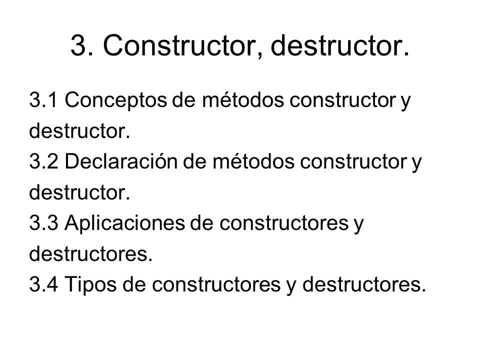 4.Sobrecarga. 4.1 Conversión de tipos. 4.2 Sobrecarga de métodos.