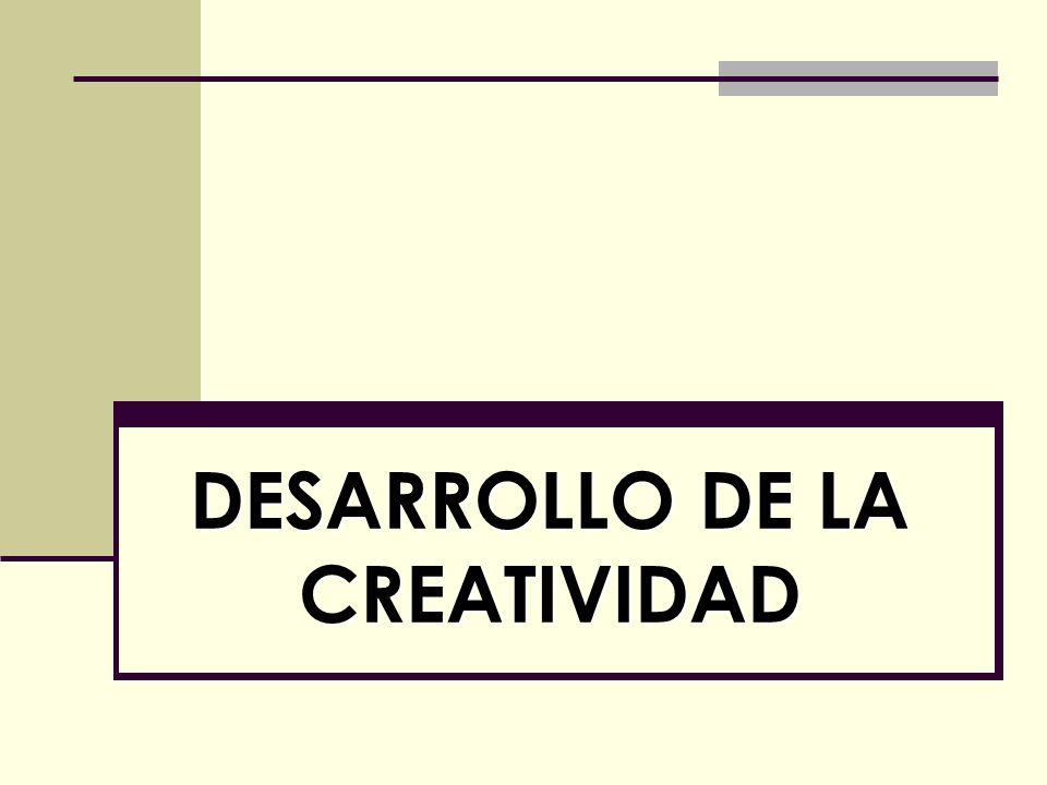 1.Motivación. 2. Definiciones e introducción. 3. Soportes de la creatividad.