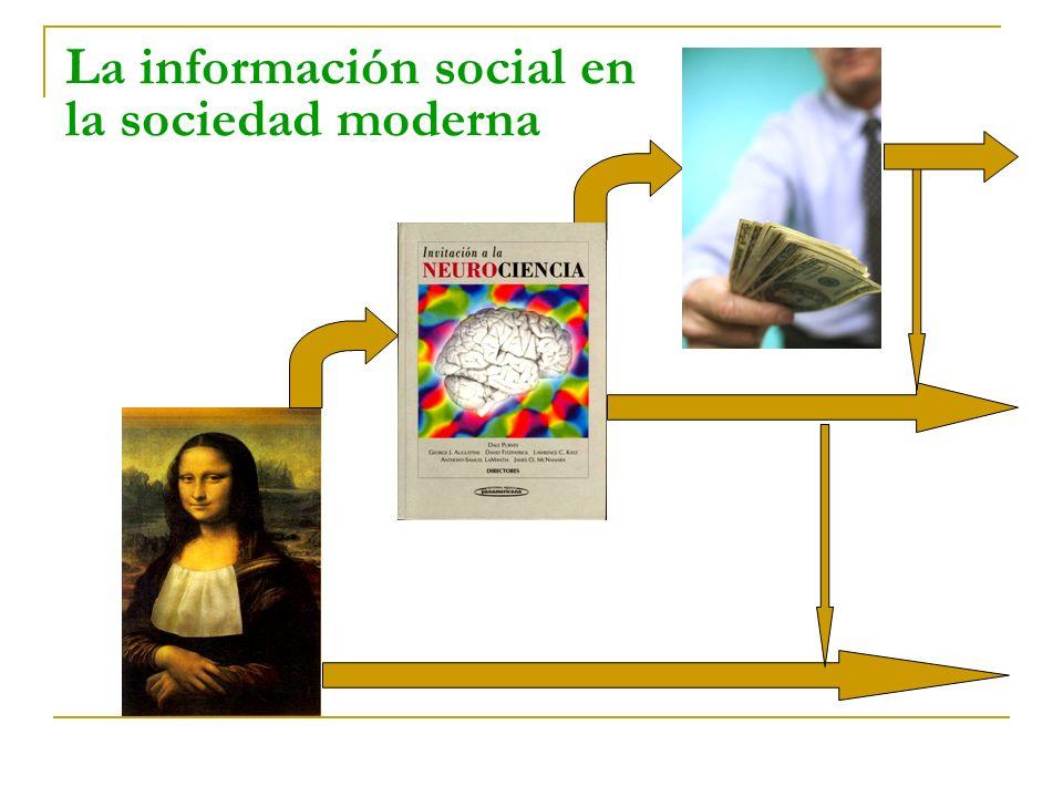 La información social en la sociedad moderna
