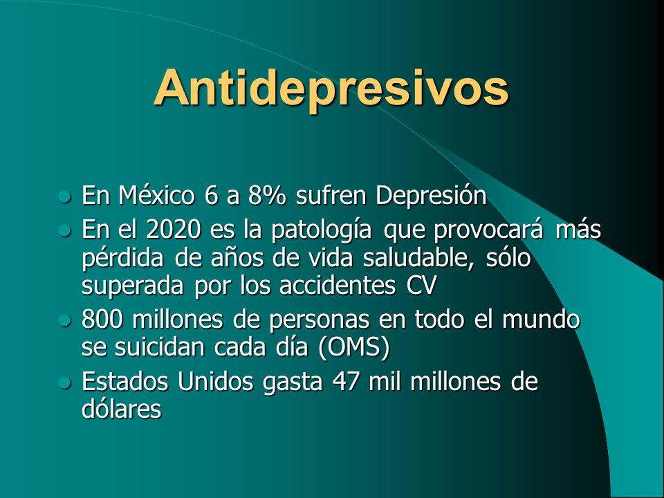 Antidepresivos Tricíclicos Envenenamiento agudo.