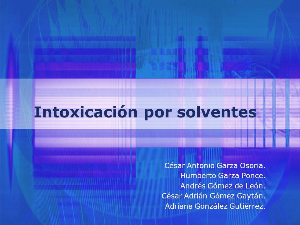 22 TOLUENO Cuadro clínico de la intoxicación CRÓNICO: >Alteraciones psicomotoras.