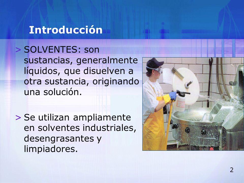 3 Introducción >TODOS LOS SOLVENTES SON LIPOSOLUBLES.