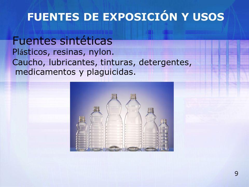 20 TOLUENO Toxicocinética >Absorción: por vía respiratoria (inhalado) >Distribución: por ser liposoluble por todo el organismo (sobre todo SNC y periférico, hueso, bazo, sangre, glándulas suprarrenales).