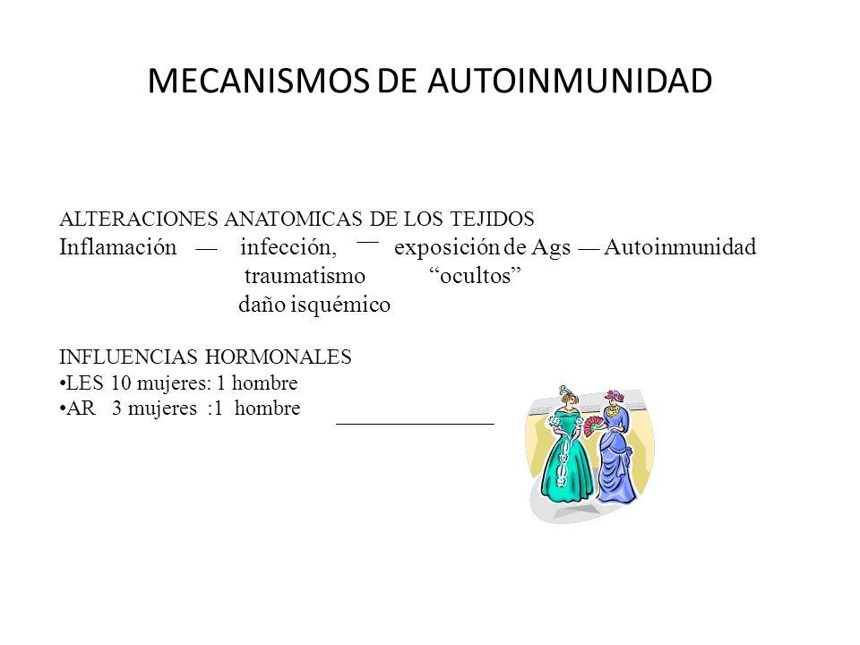 MECANISMOS DE AUTOINMUNIDAD SUSCEPTIBILIDAD GENETICA,AMBIENTAL Y HORMONAL 1994 Taurog ratas transgénicas amb.
