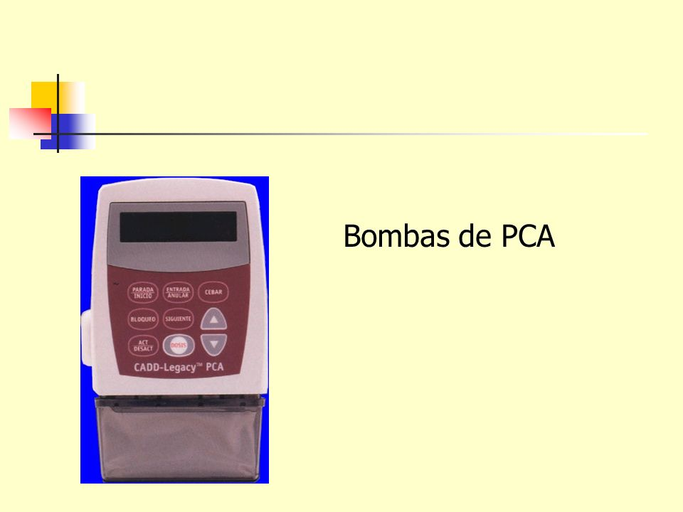 Bombas de PCA