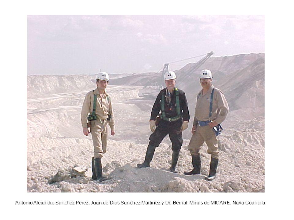 Antonio Alejandro Sanchez Perez, Juan de Dios Sanchez Martinez y Dr. Bernal, Minas de MICARE, Nava Coahuila
