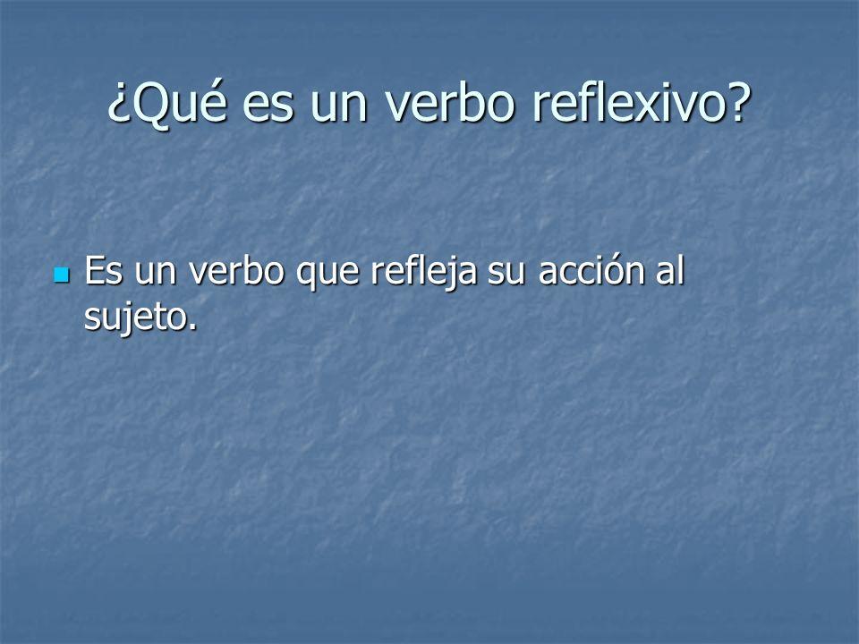 Ejemplo En Ingles Non-reflexive I wash the car Reflexive I wash myself.