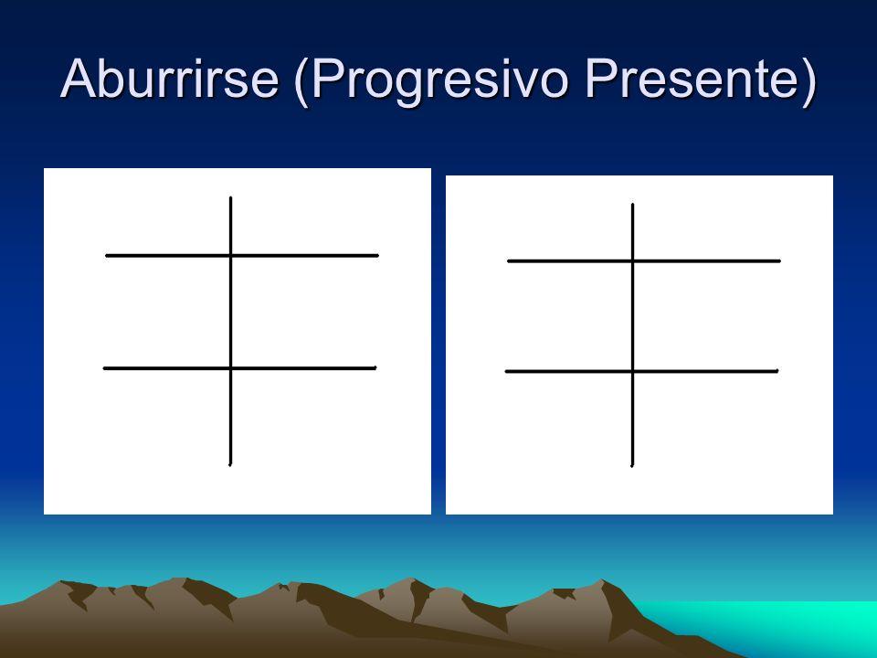 Aburrirse (Progresivo Presente)