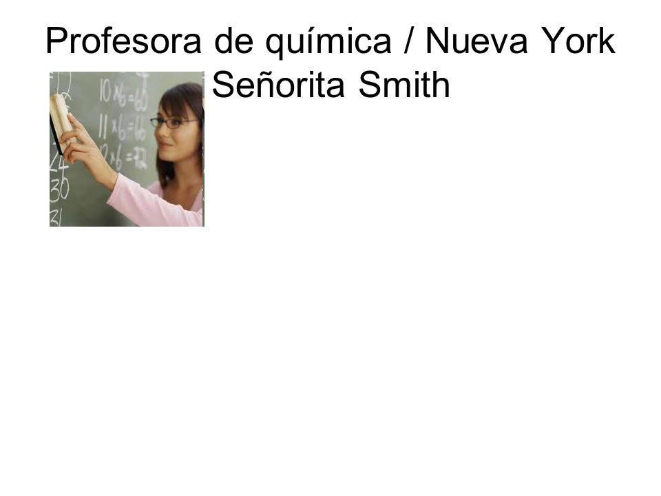 Profesor de ciencias / Virginia Señor Miller